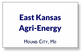 East Kansas  Agri-Energy Mound City, Mo